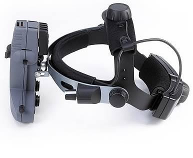 беспроводной непрямой бинокулярный офтальмоскоп
