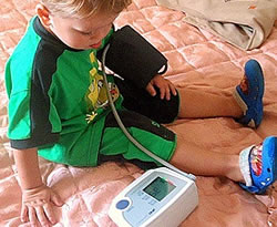 Автоматический тонометр не подходит для ребенка